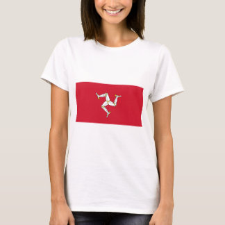 Isle of Man Flag - Manx Flag - Brattagh Vannin T-Shirt