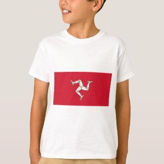 Isle of Man Flag - Manx Flag - Brattagh Vannin T-Shirt