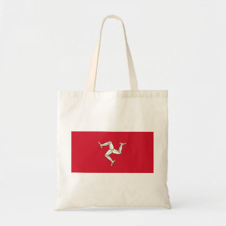Isle of Man Flag - Manx Flag - Brattagh Vannin Tote Bag