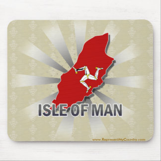 Isle Of Man Flag Map 2.0 Mouse Pad