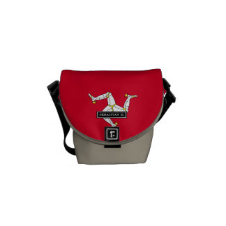 Isle of Man Flag Messenger Bag