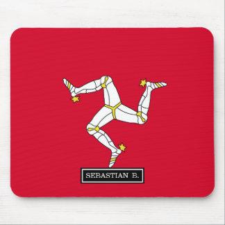 Isle of Man Flag Mouse Pad