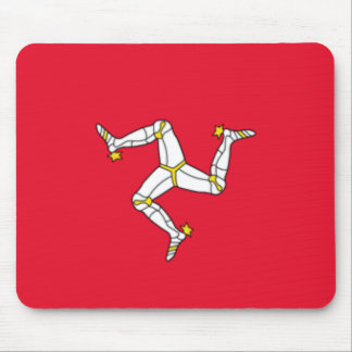 Isle of Man Flag Mousepad