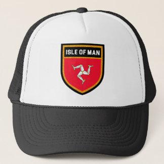 Isle of Man Flag Trucker Hat