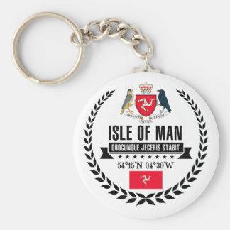 Isle of Man Keychain