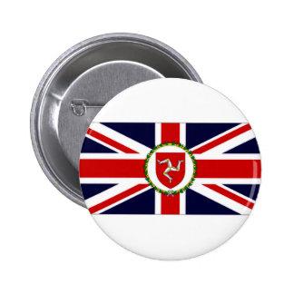 Isle of Man Lieutenant Governor Flag Button