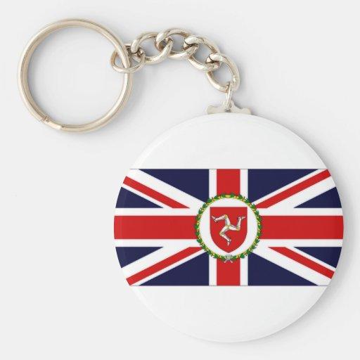 Isle of Man Lieutenant Governor Flag Keychains