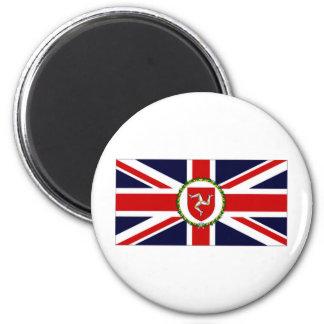 Isle of Man Lieutenant Governor Flag Refrigerator Magnets