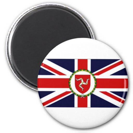 Isle of Man Lieutenant Governor Flag Magnet