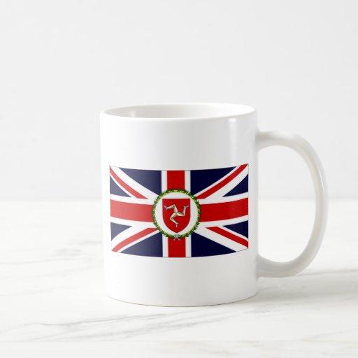 Isle of Man Lieutenant Governor Flag Coffee Mugs