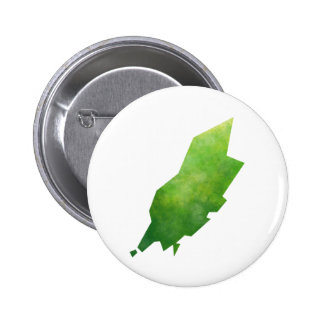 Isle Of Man Map 2 Inch Round Button