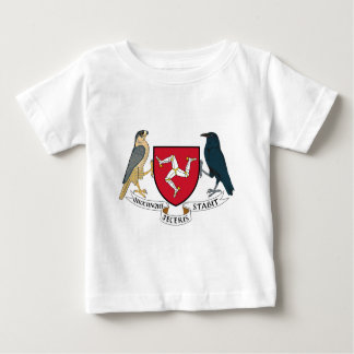 Isle of Man Republican Coat of Arms - Manx Emblem Baby T-Shirt