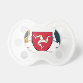 Isle of Man Republican Coat of Arms - Manx Emblem Pacifier