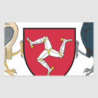 Isle of Man Republican Coat of Arms - Manx Emblem Sticker