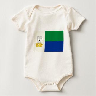 Isle Of Portland Flag Baby Bodysuit