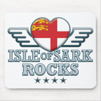 Isle of Sark Rocks v2 Mouse Pad