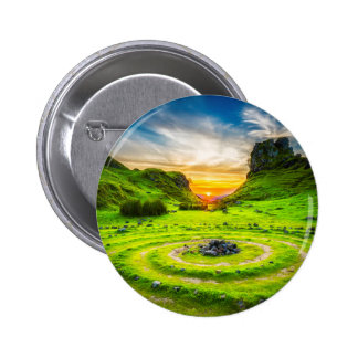 Isle of Sky Valley 2 Inch Round Button