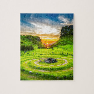 Isle of Sky Valley Jigsaw Puzzle