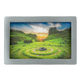 Isle of Sky Valley Rectangular Belt Buckles