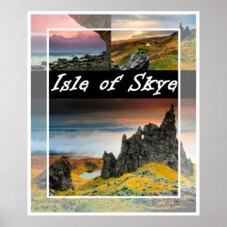 Isle of Skye: landscape poster