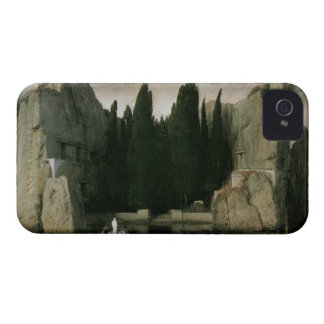 Isle of the Dead by Arnold Bocklin, Symbolism Art iPhone 4 Cover