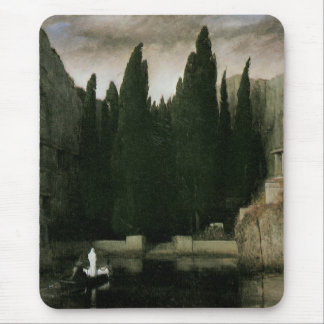 Isle of the Dead by Arnold Bocklin, Symbolism Art Mouse Pad
