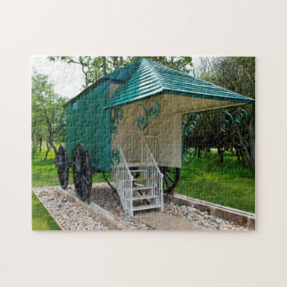 Isle of wight Bathing Hut Jigsaw Puzzle