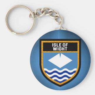 Isle of Wight Flag Keychain