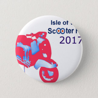 Isle of Wight Scooter Rally 2017 2 Inch Round Button