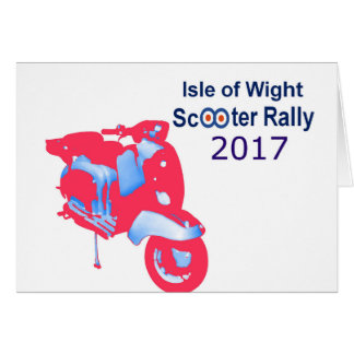 Isle of Wight Scooter Rally 2017 Card