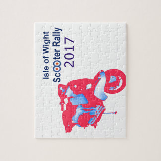 Isle of Wight Scooter Rally 2017 Jigsaw Puzzle