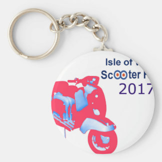 Isle of Wight Scooter Rally 2017 Keychain