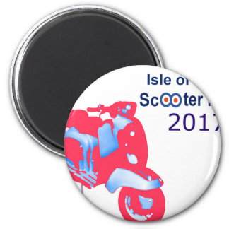 Isle of Wight Scooter Rally 2017 Magnet