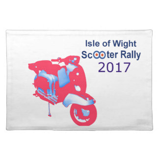 Isle of Wight Scooter Rally 2017 Placemat