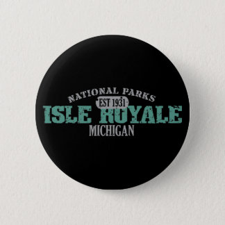 Isle Royale National Park 2 Inch Round Button