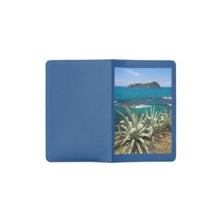 Islet and coastal vegetation pocket moleskine notebook