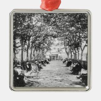 Islington Green, c.1900 Silver-Colored Square Ornament