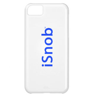 """iSnob"" by The Snob Brand-iPhone 5 Case"