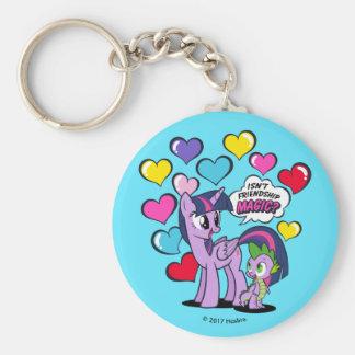 Isn't Friendship Magic? Basic Round Button Keychain