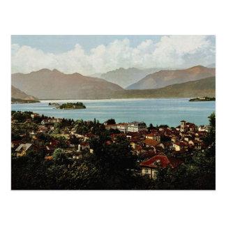 Isola Bella and Stresa, Maggiore, Lake of, Italy v Postcard