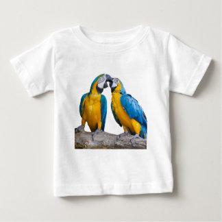 isolated ara ararauna parrot baby T-Shirt