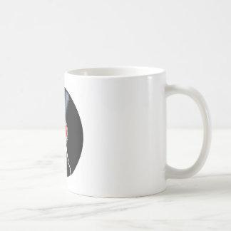 Isolated Broken Record Coffee Mug