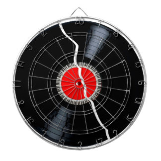 Isolated Broken Record Dartboard