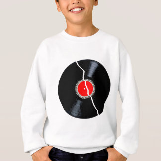 Isolated Broken Record Sweatshirt
