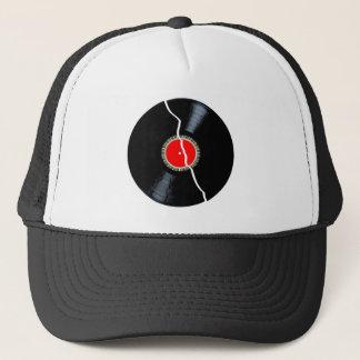 Isolated Broken Record Trucker Hat
