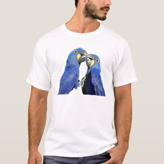 Isolated Hyacinth macaws T-Shirt