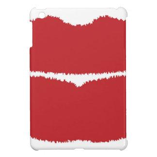 Isolated Lip Kiss iPad Mini Covers