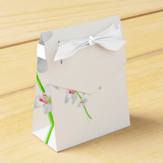 Isolated Orquideas Blossom Favor Box