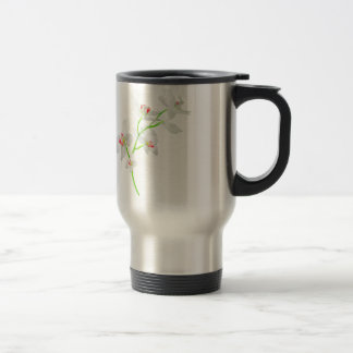 Isolated Orquideas Blossom Travel Mug