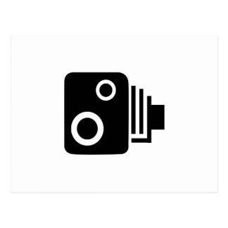 Isolated Speed Camera Postcard